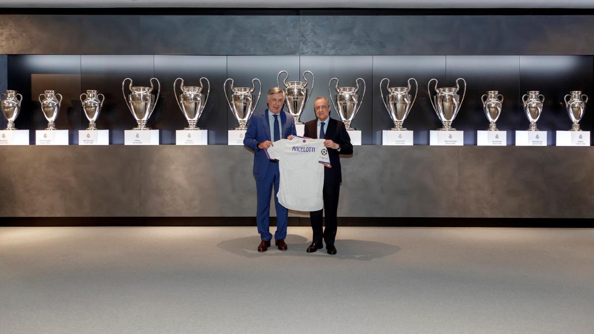 ¿Cuánto mide Carlo Ancelotti? - Altura - Real height Ancelotti-con-con-florentino-perez