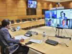 Pablo Iglesias durante su intervención en la ONU