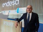 El consejero delegado de Endesa, José Bogas, en la junta de accionistas.