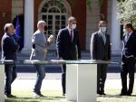 Firma acuerdo agentes sociales Gobierno Moncloa