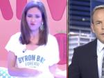 baile en el informativo de Telecinco
