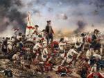 Cuadro 'Por España y por el Rey, Gálvez en América', obra de Augusto Ferrer-Dalmau