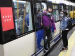 Metro de Madrid coronavirus