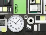 Fotografía de una escritorio. La productividad es más alta a primera hora de la mañana, según los expertos.
