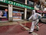 Desinfección en Ávila para evitar contagios