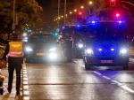 Los distintos cuerpos de policía tomaron las calles de Sevilla para controlar el toque de queda