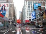 Un Nueva York vació asistió al desfile tradicional de Macy's por Acción de Gracias