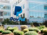 Acceso principal de las oficinas centrales de PayPal en San José (California)