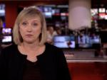 Anuncio muerte de Felipe de Edimburgo en BBC.
