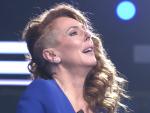 Rocío Carrasco en su reaparición en Telecinco