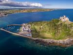 Fotografía del castillo St Michael's Mount.