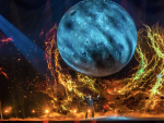 Blas Cantó y su gran eurovisiva luna