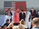 Visita al Sáhara del subsecretario de Estado para asuntos de Oriente Medio, David Schinker. EFE/ Javier Otazu