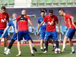 Selección Española entrenamiento