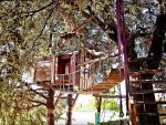 Casa del árbol de Huétor Santillán (Granada)