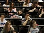 Jóvenes estudiantes. EFE/Jesús Diges