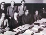 Imagen de los padres de la Constitución española (EFE)