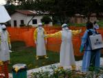 Trabajo contra el ébola en República Democrática del Congo