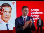 Sánchez, en el acto de presentación del lema de campaña del PSOE