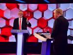 Corbyn y Johnson debate Reino Unido