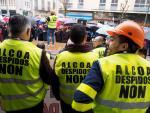 Medio millar de personas sale a la calle por la continuidad de Alcoa en Lugo