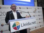 Sisco Sapena en la salida al MAB de Lleida.Net