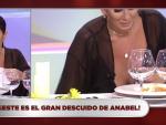 El pezón de Anabel Pantoja.