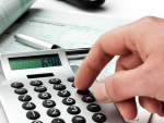 Fotografía de una declaración de la renta. Las declaraciones ya presentadas se pueden modificar con ciertos requisitos.