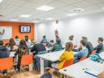 Estudiantes en un curso de MasterD