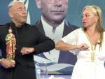 Belén Esteban y Jorge Javier Vázquez pelea