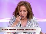 La croqueta de María Patiño en 'La última cena'