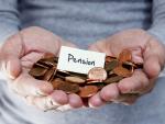 Fotografía del dinero de un plan de pensiones. El rescate de un plan de pensiones puede suponer ahorro en la jubilación.