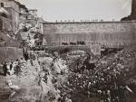 Imagen del Canal de Isabel II y los prisioneros construyendo el Pontón de la Oliva