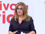 Toñi Moreno en el segundo adiós de 'Viva la vida'