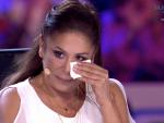 Las lágrimas de Isabel Pantoja en 'Idol Kids'