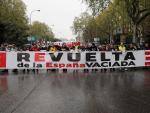 Fotografía manifestación 'España vaciada' / EFE
