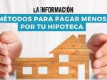 Infografía sobre hipotecas. ¿Cuáles son las ventajas de la novación y de la subrogación en la hipoteca?