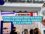 Fotografía de un décimo de lotería.