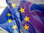 Banderas Unión Europea y REino Unido Brexit