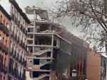 Explosión en Madrid. Así ha quedado el edificio