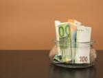 Euros, dinero, guardar dinero