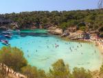 Fotografía de una cala en Mallorca.