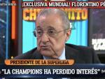 Florentino Pérez con Pedrerol
