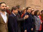 PP, Vox y Cs se unirán de nuevo en Colón contra los indultos
