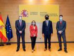 Fotografía Nadia Calviño y nuevos altos cargos / EFE