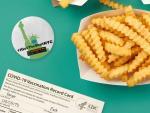 Hamburguesas y donuts: cómo el marketing puso a EEUU a la cabeza de las vacunaciones