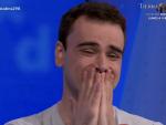 Pablo Díaz emocionado tras ganar el bote de Pasapalabra