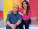 Ramón García con Gloria Santoro, copresentadora del espacio, 'En compañía'