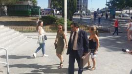 Noelia de Mingo llegando a los juzgados de Plaza Castilla    (Foto de ARCHIVO) 12/7/2017