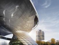 BMW building.